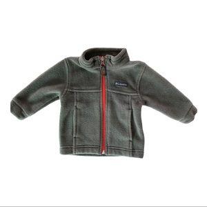 Columbia | Gray Fleece Jacket (3-6 mos)